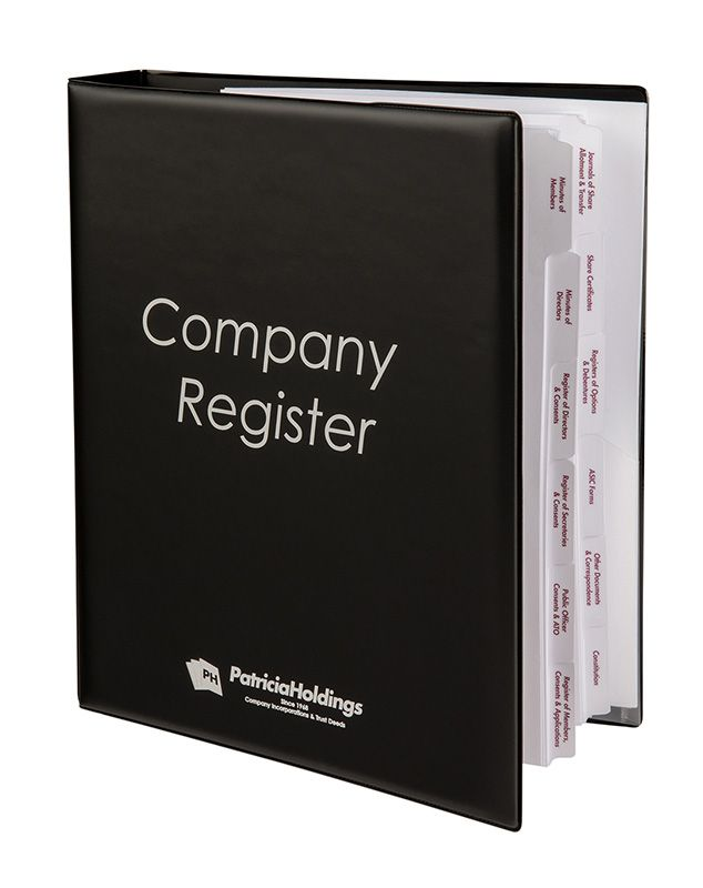Company Binder Cover